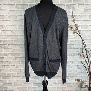 Old Navy Men's Button Up Cardigan Sweater Small